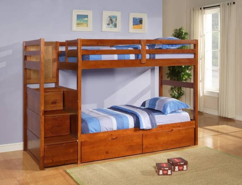 Двухъярусная кровать, фото
